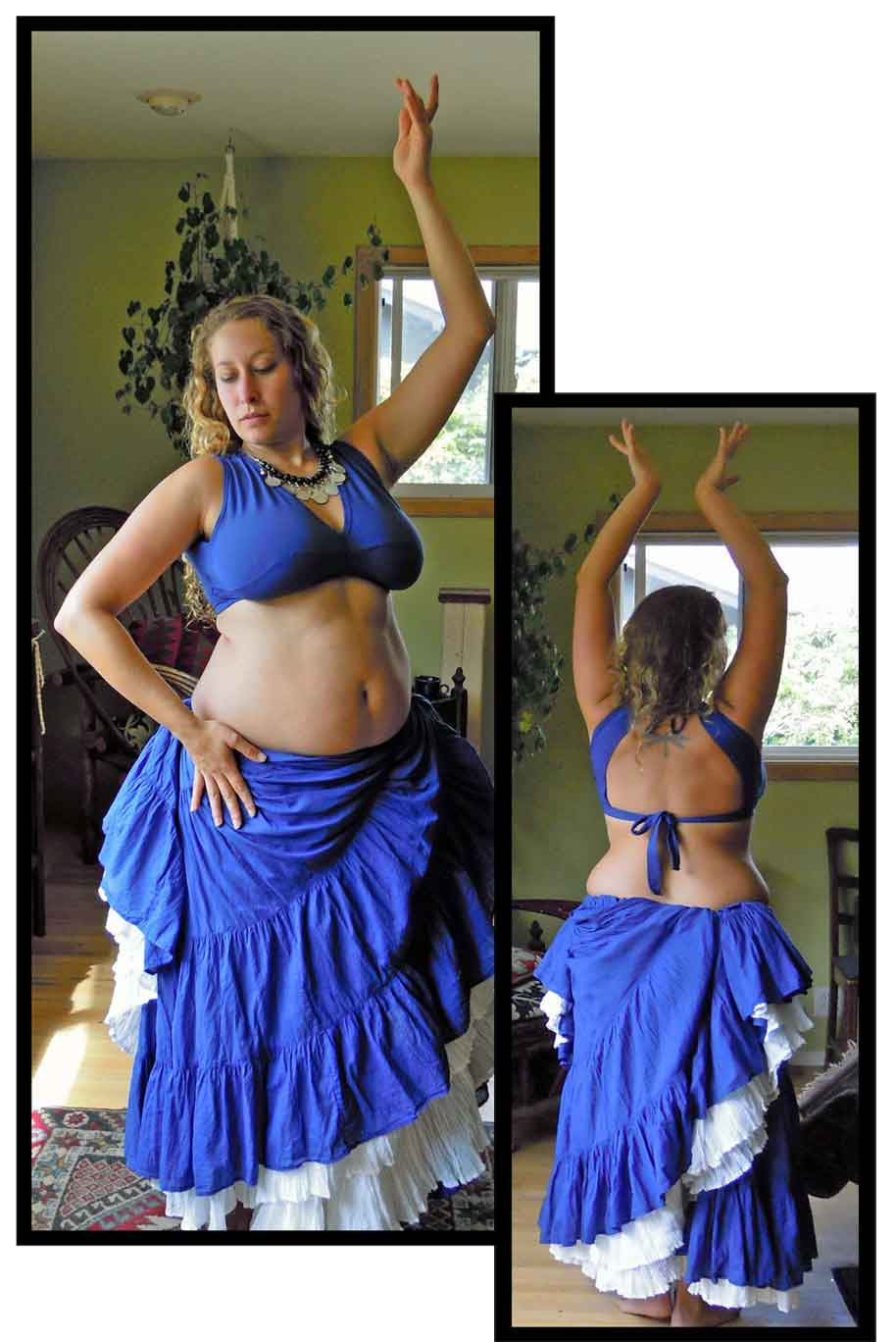 b3ae214c56d Flying Skirts Tribal Belly Dance Costumes  Sleeveless Choli