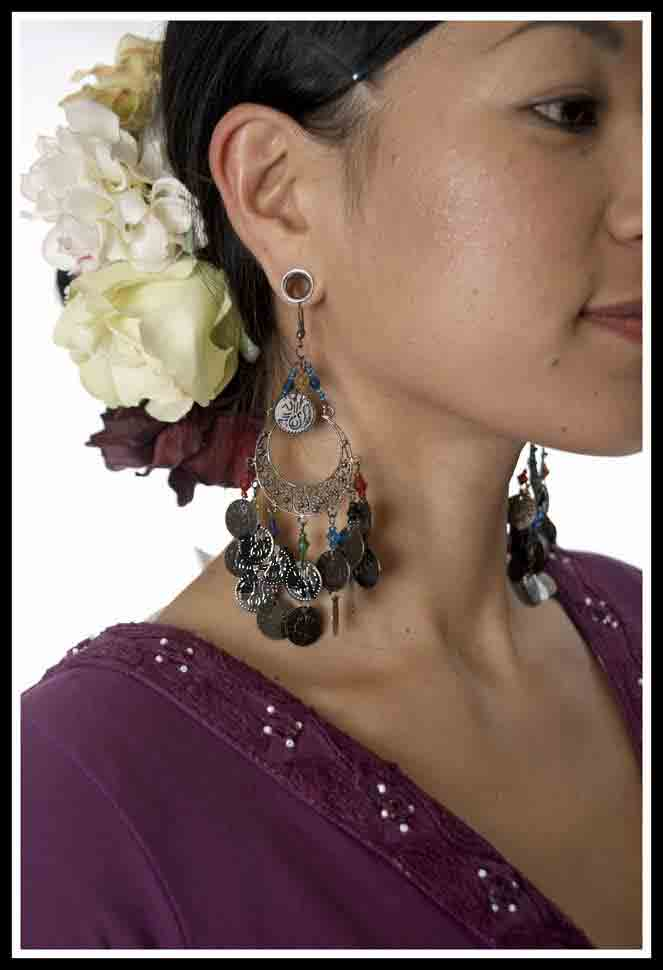 Spanish Dancer Earrings 1 View Image
