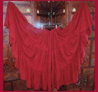 Rayon Jacquard  Skirt