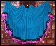 Colorful Black Diamond Skirt-2