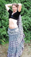 Indian Block Print Skirt-2