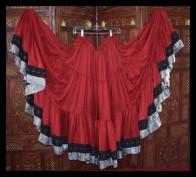 Silk and Diamonds Skirt-2