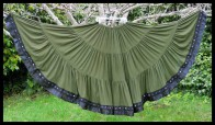 Colorful Black Diamond Skirt-1
