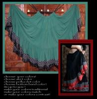 Flamenco Spinning Skirt