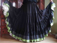 Flamenco Spinning Skirt-2