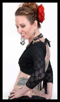 3/4 Sleeve Lace Choli-2