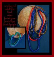 Glass Bead Necklaces-1